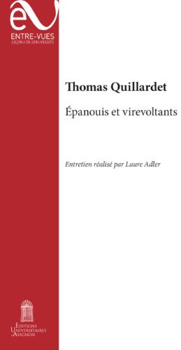 Couverture du livre de Quillardet