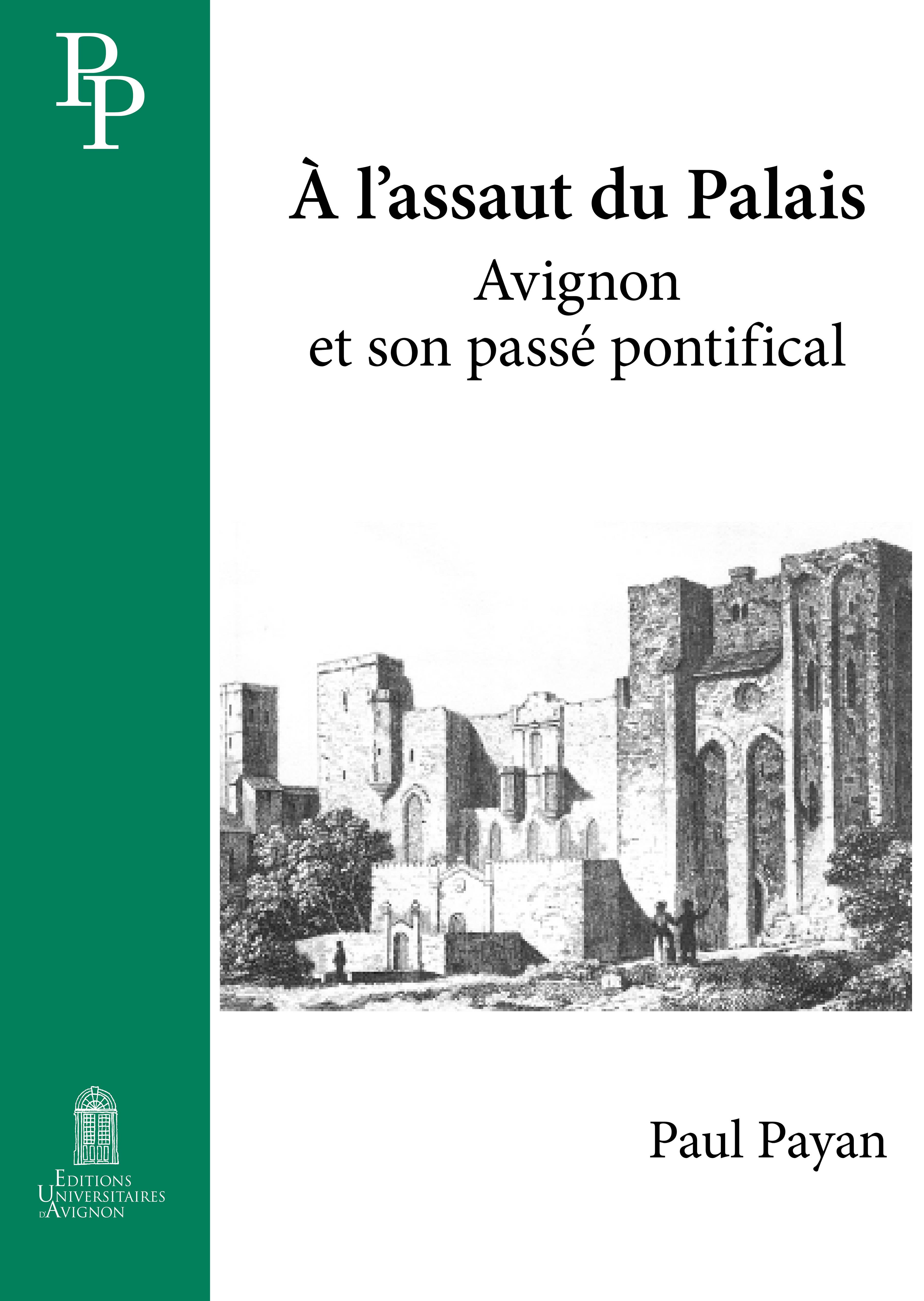 couverture du livre de Payan
