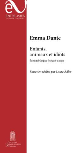 Couverture du livre d'Emma Dante