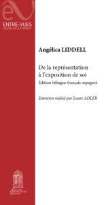 Couverture du livre d'Angélica Liddell