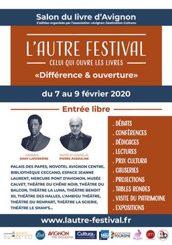 Affiche du Salon du livre d'Avignon