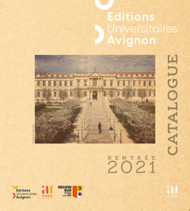 """couverture du catalogue """"Rentrée 2021"""""""